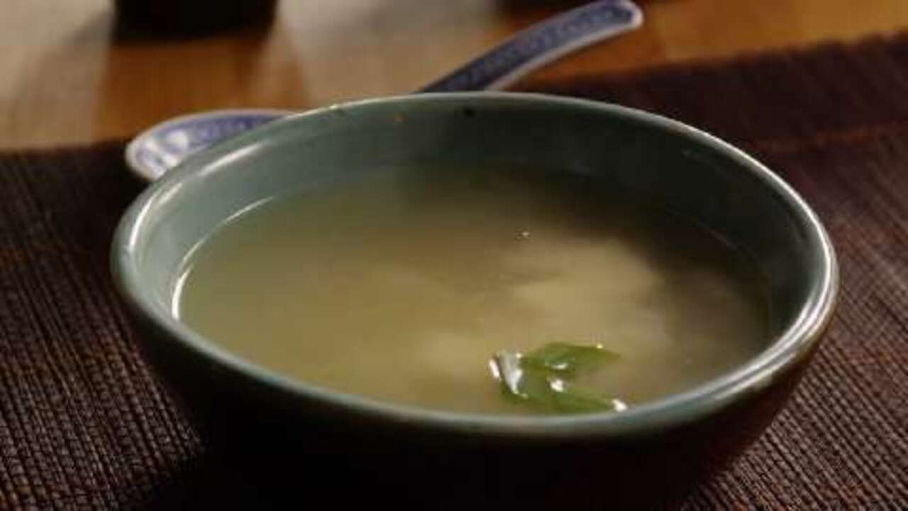 Miso Soup Video Allrecipes Com