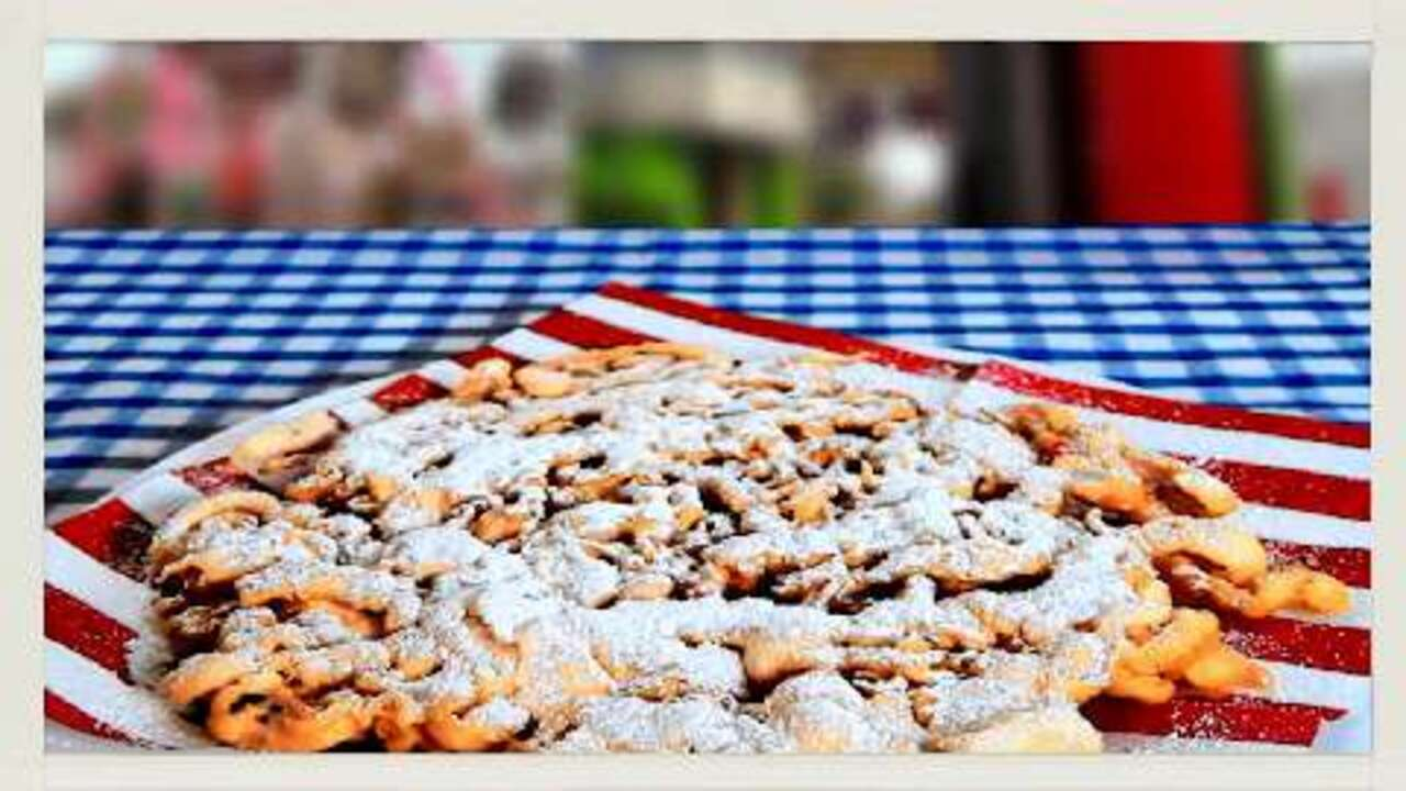 funnel cakes iv video