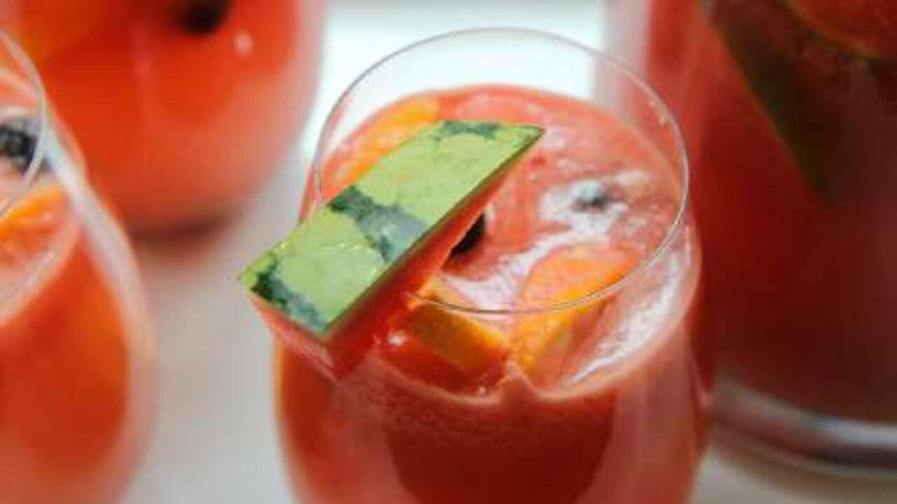 watermelon sangria video