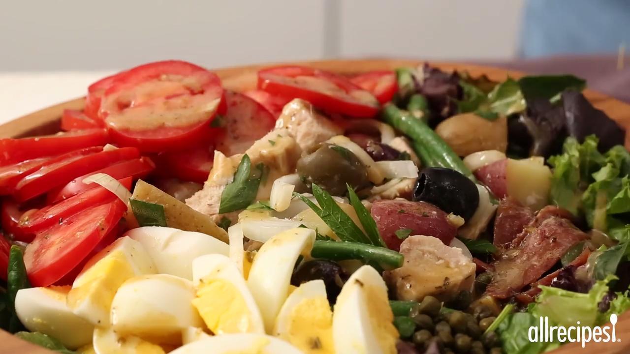salad nicoise video