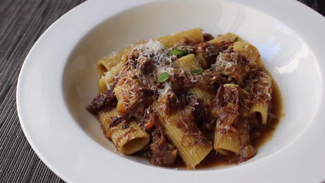 rigatoni alla genovese recipe allrecipes com