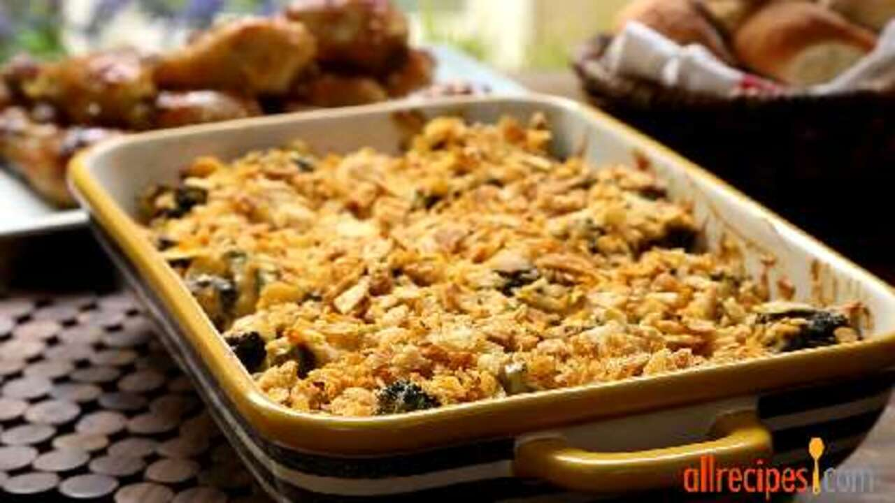 awesome broccoli cheese casserole video