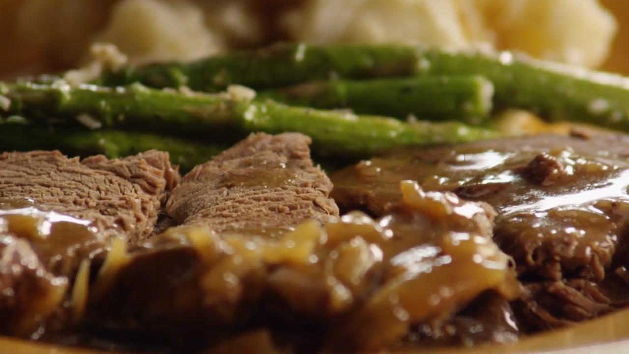 slow cooker venison roast video