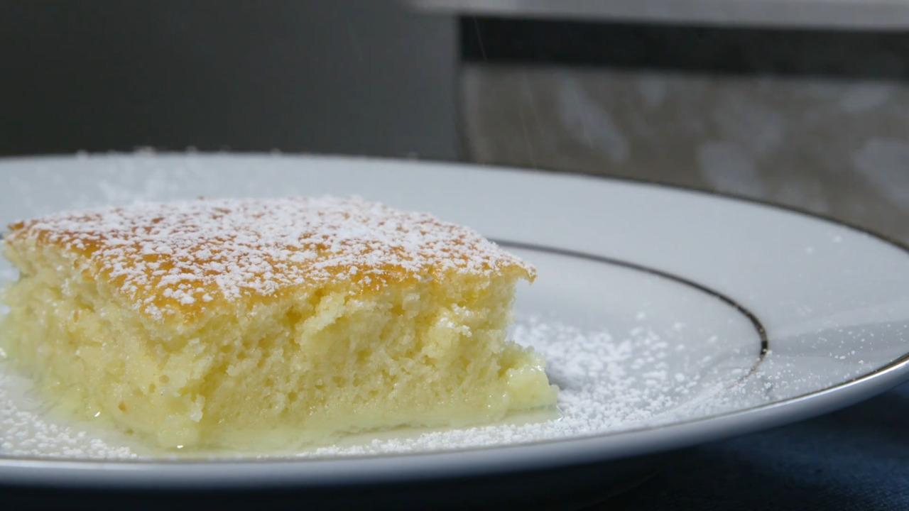 lemon pudding cake video