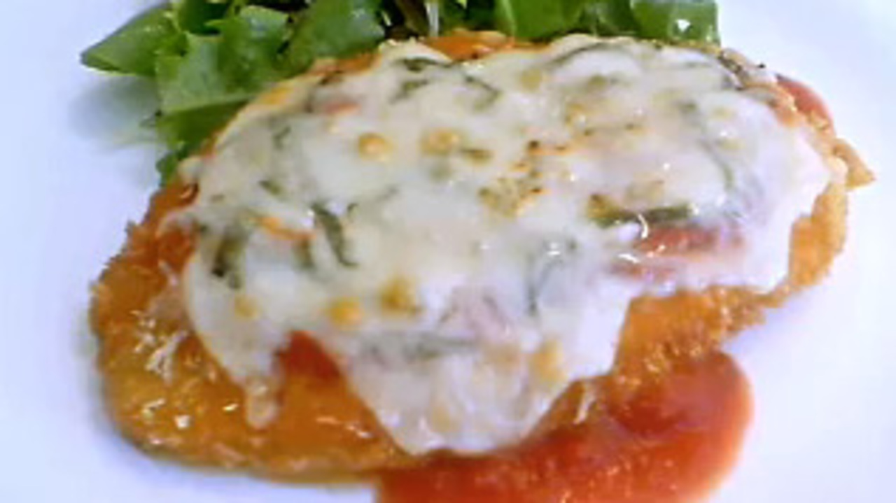 How To Make Chicken Parmesan Video Allrecipes Com