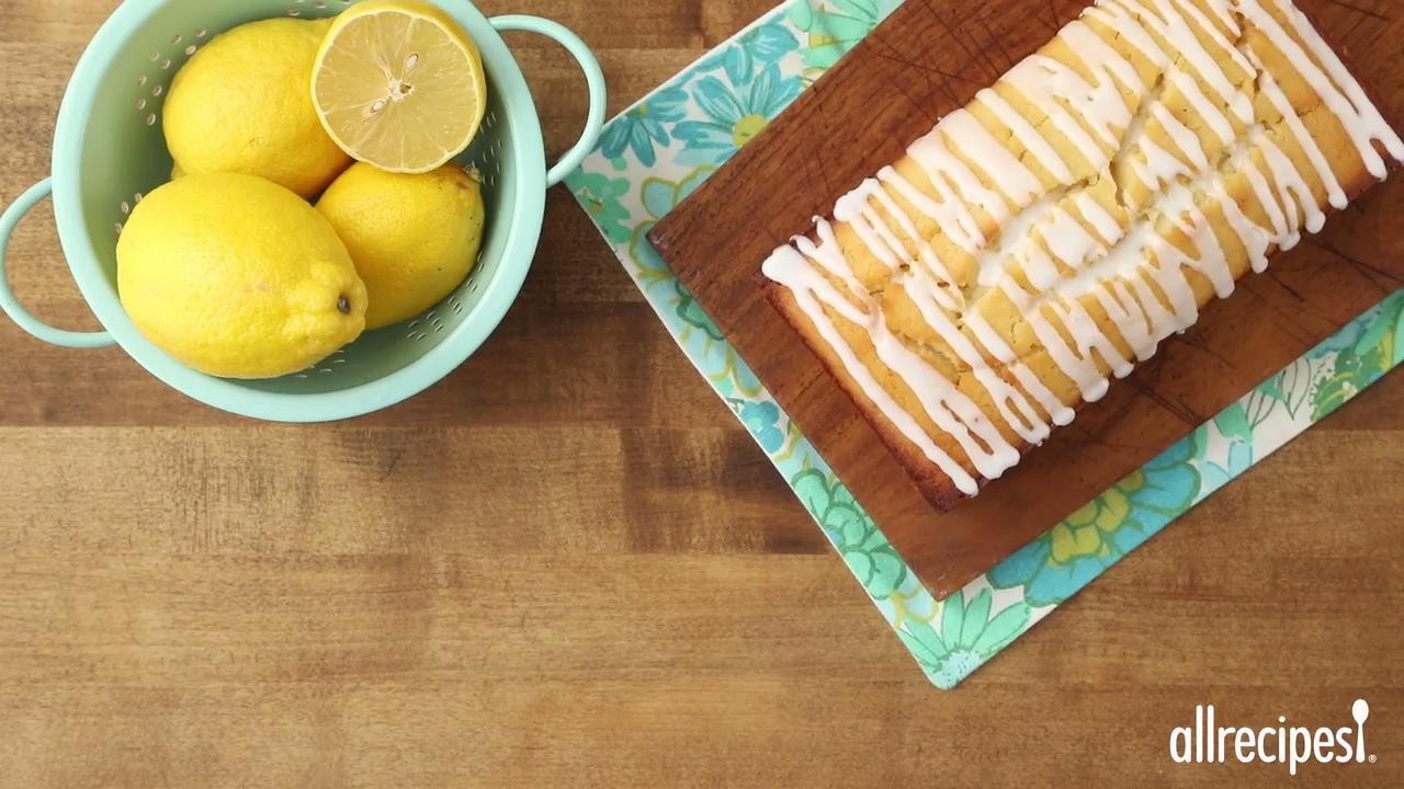 yummy lemon coconut loaf video