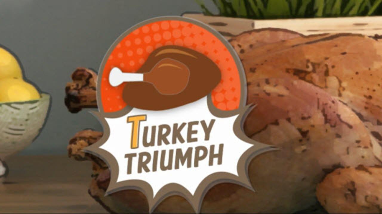 how to fix a still frozen turkey video