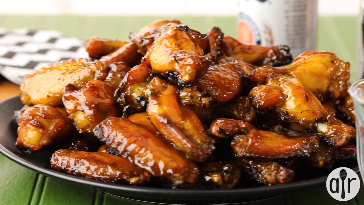 amazing easy chicken wings video