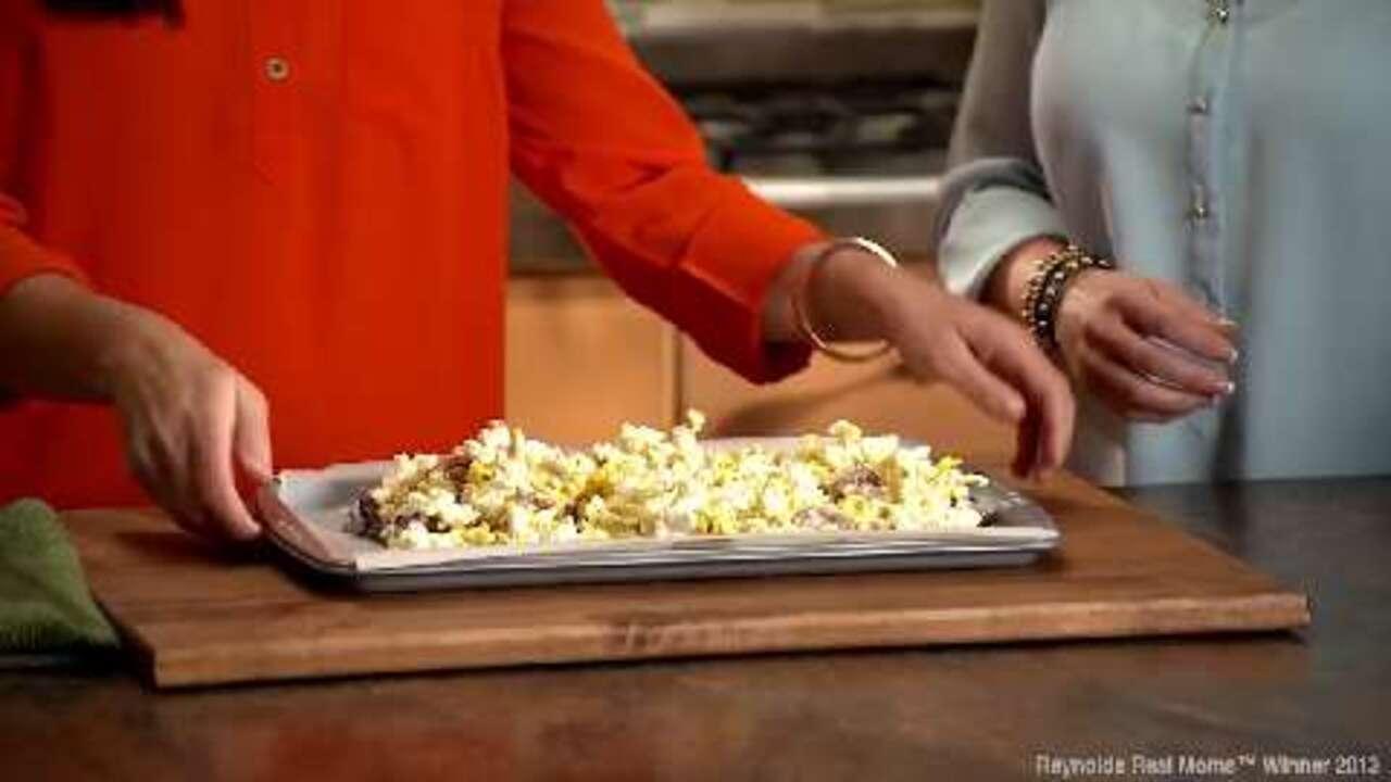 ashley whitneys popcorn pretzel snack mix video