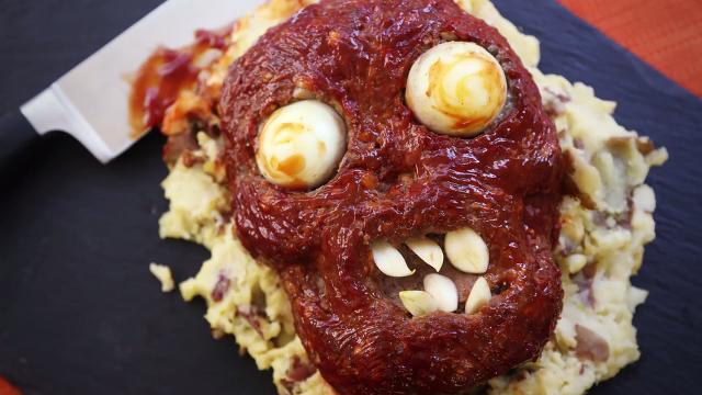 halloween zombie meatloaf video
