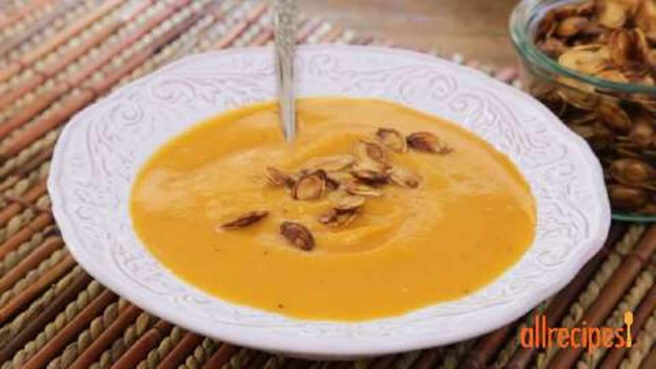 spiced pumpkin seeds video