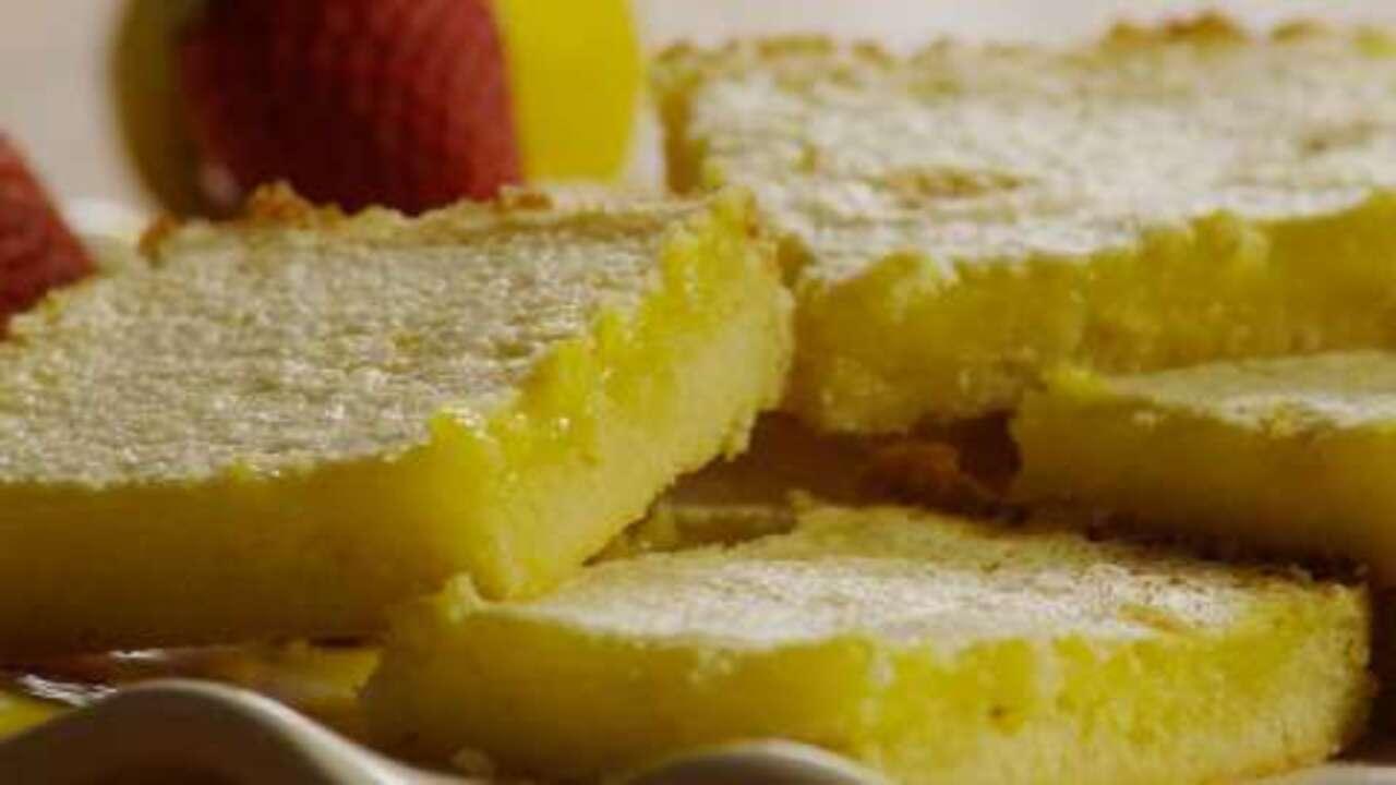 the best lemon bars video