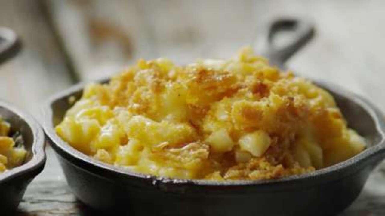 Baked Homemade Macaroni And Cheese Video Allrecipes Com