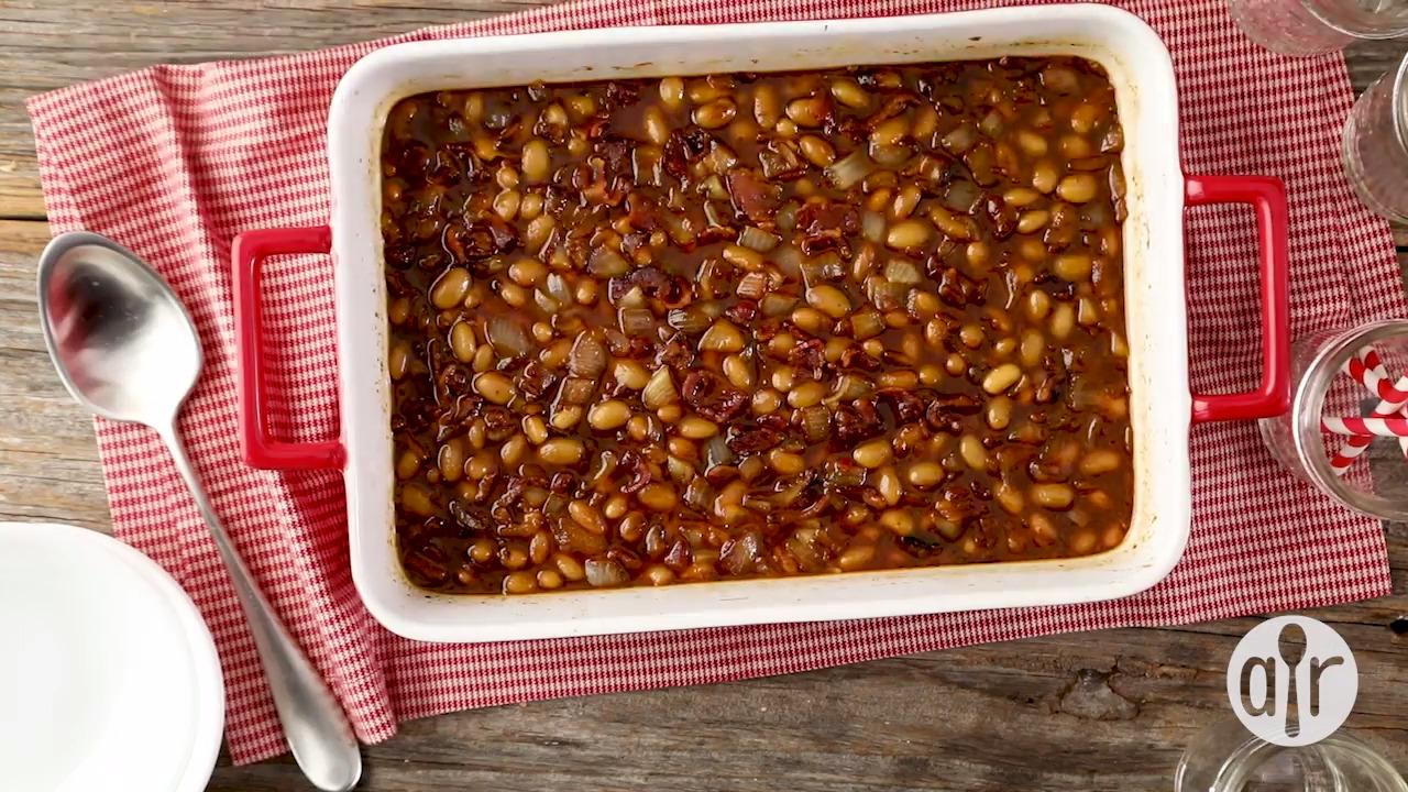 homemade baked beans video