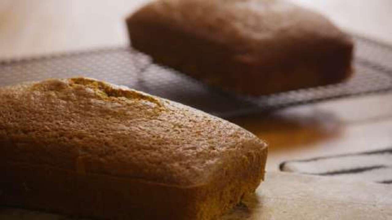 downeast maine pumpkin bread video