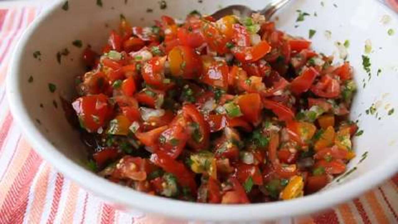 cinco de mayo salsa cruda video