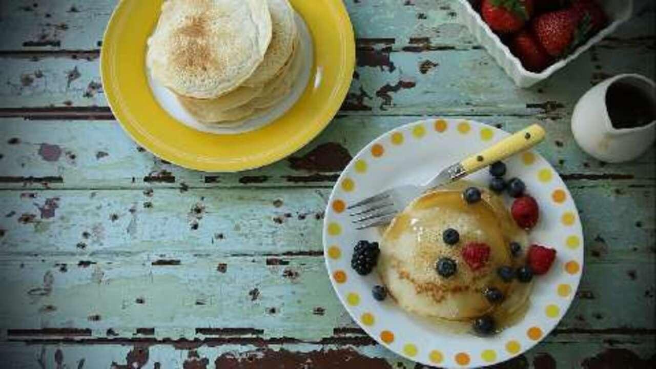 vegan pancakes video
