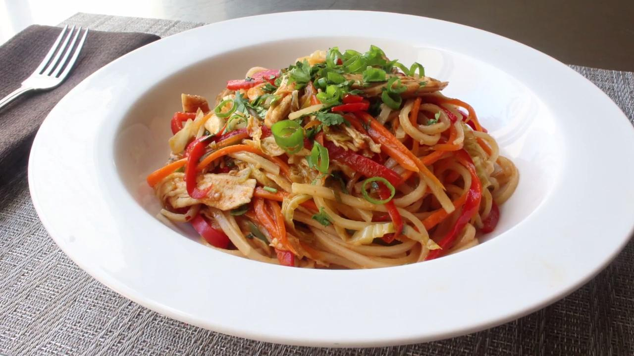 Spicy Chicken Noodles Video