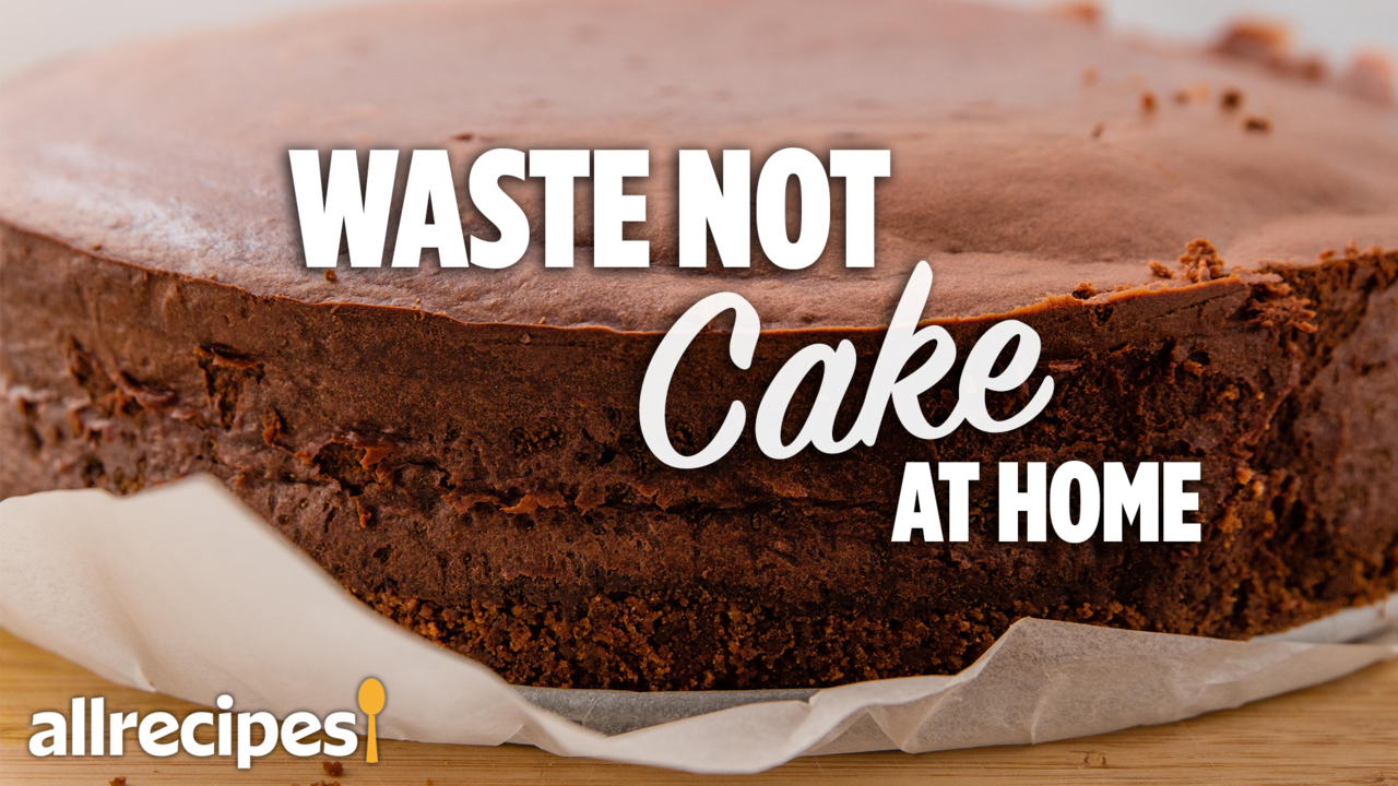 waste not cake video