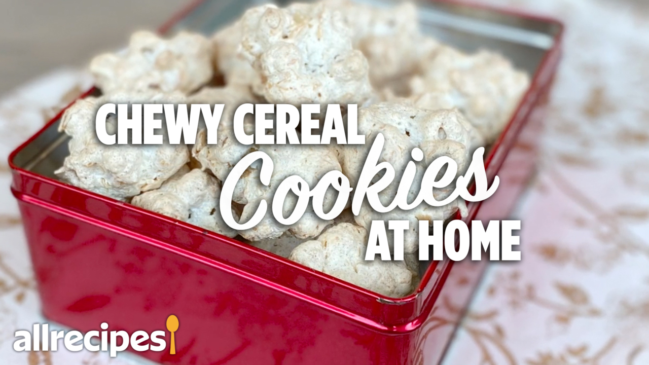 chewy cereal cookies video