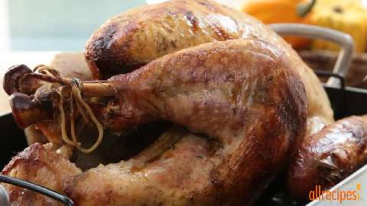 laurens apple cider roast turkey video