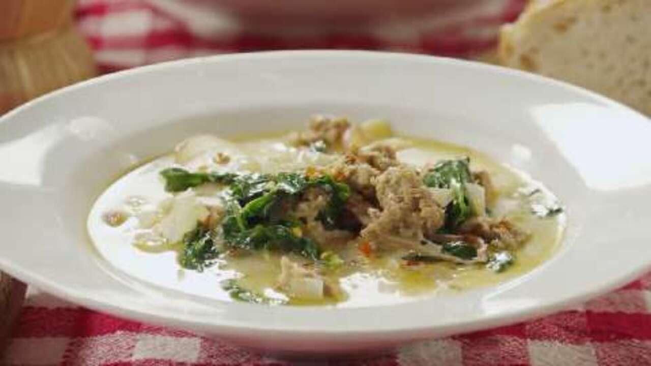 super delicious zuppa toscana video