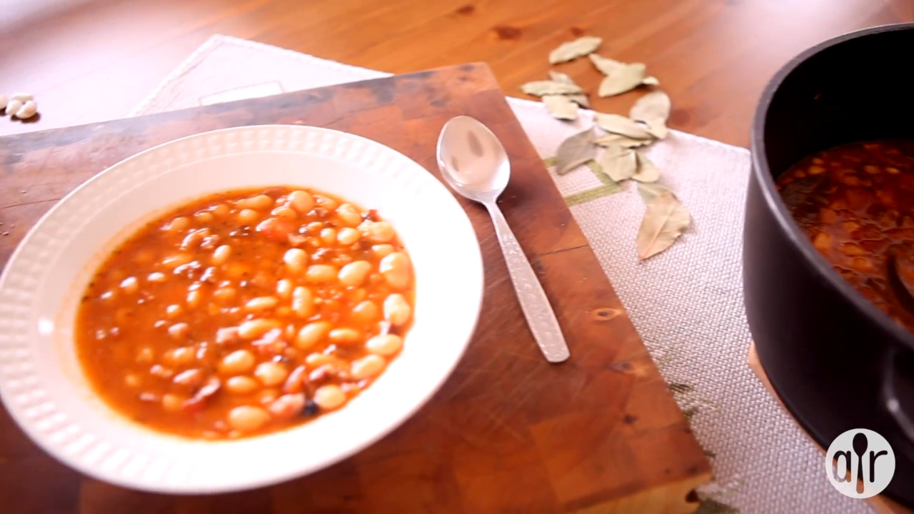 polish bean and sausage stew video