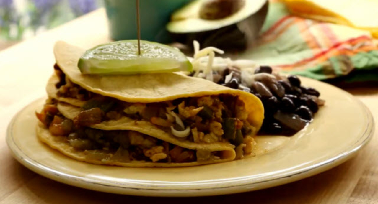Authentic Mexican Breakfast Tacos Video Allrecipes Com