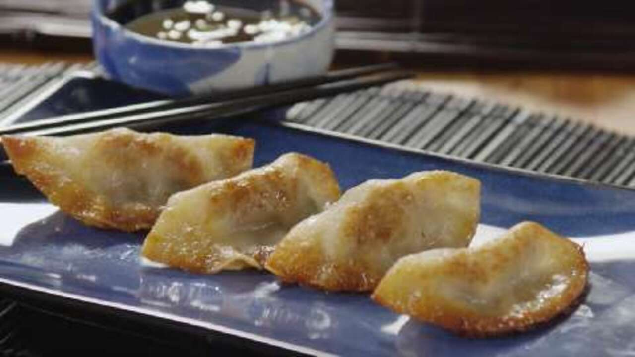 Pot Stickers Chinese Dumplings Video Allrecipes Com
