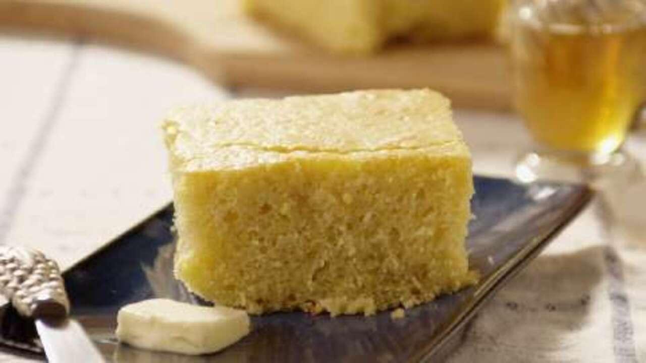sweet cornbread cake video