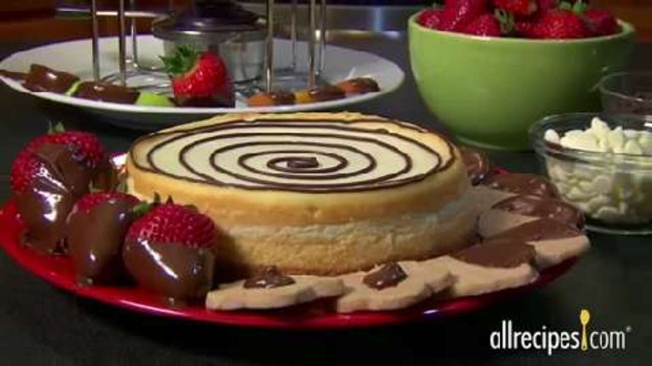 how to melt chocolate video