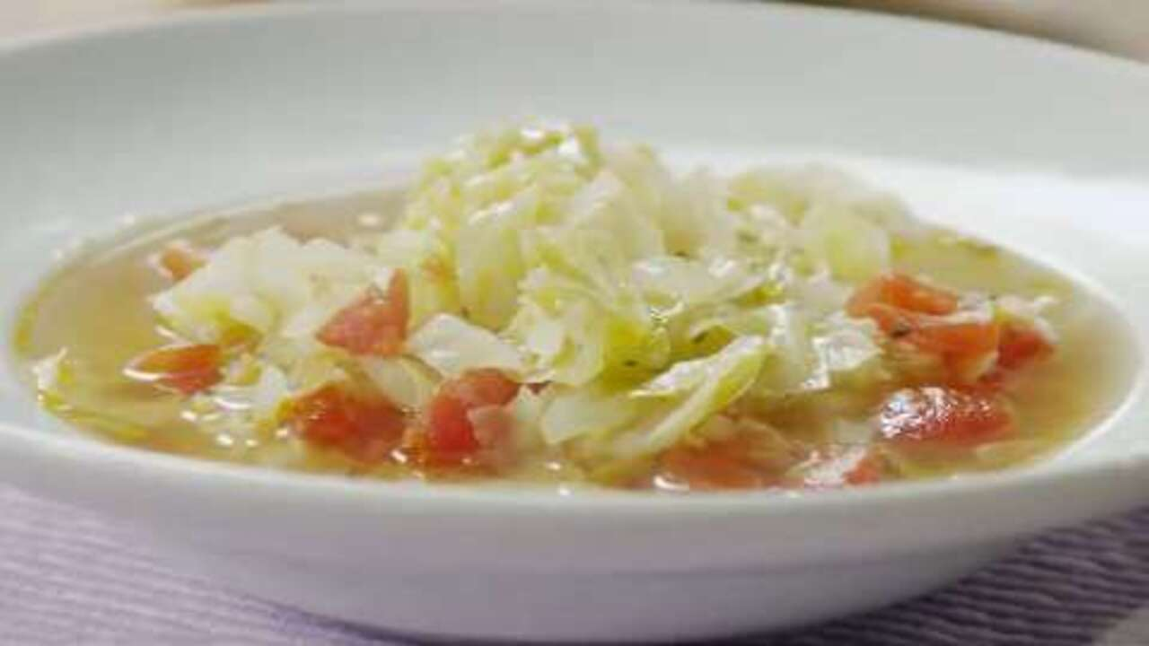 Healing Cabbage Soup Video Allrecipes Com