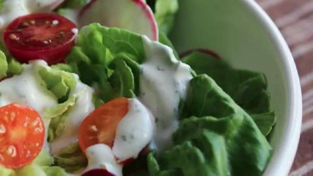 how to make homemade ranch dressing video