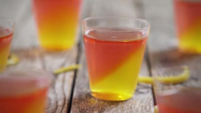 french 75 jell o shots video
