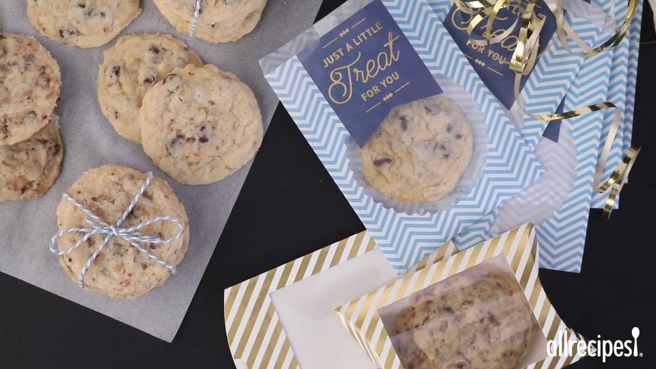 Tina's Shortbread Chocolate Chip Cookies Video