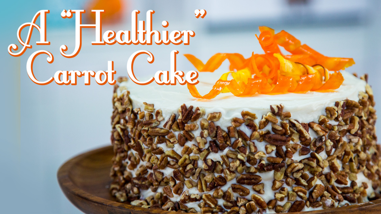 healthy carrot cake video