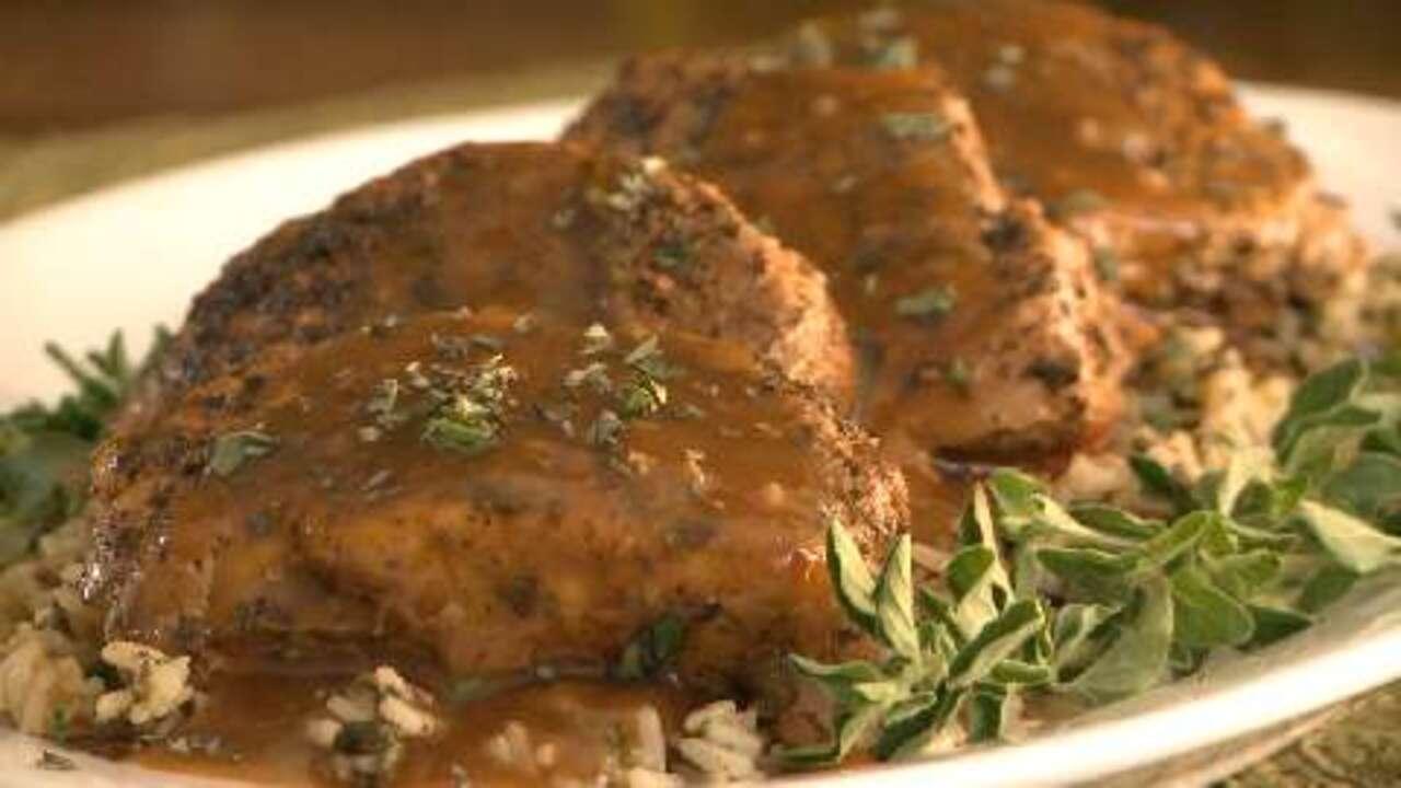 slow cooker pork chops ii video