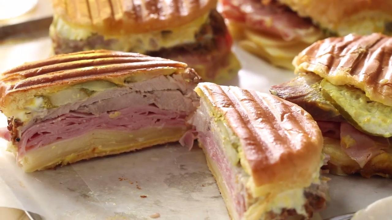 classic cuban midnight medianoche sandwich video
