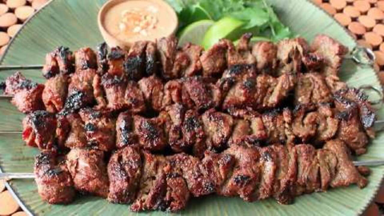 how to make beef satay video