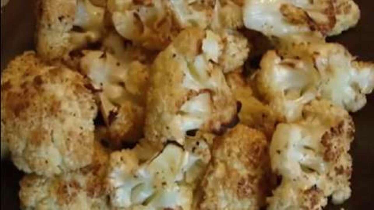butter roasted cauliflower video