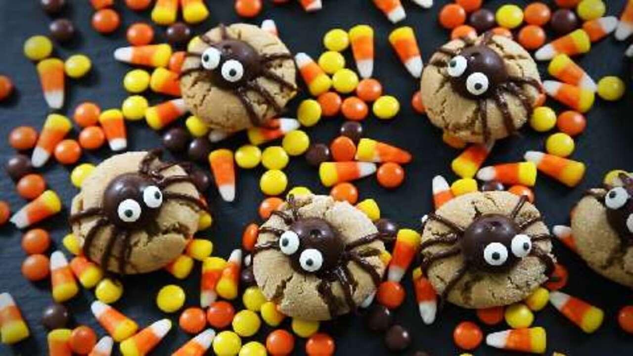 peanut butter spider cookies video