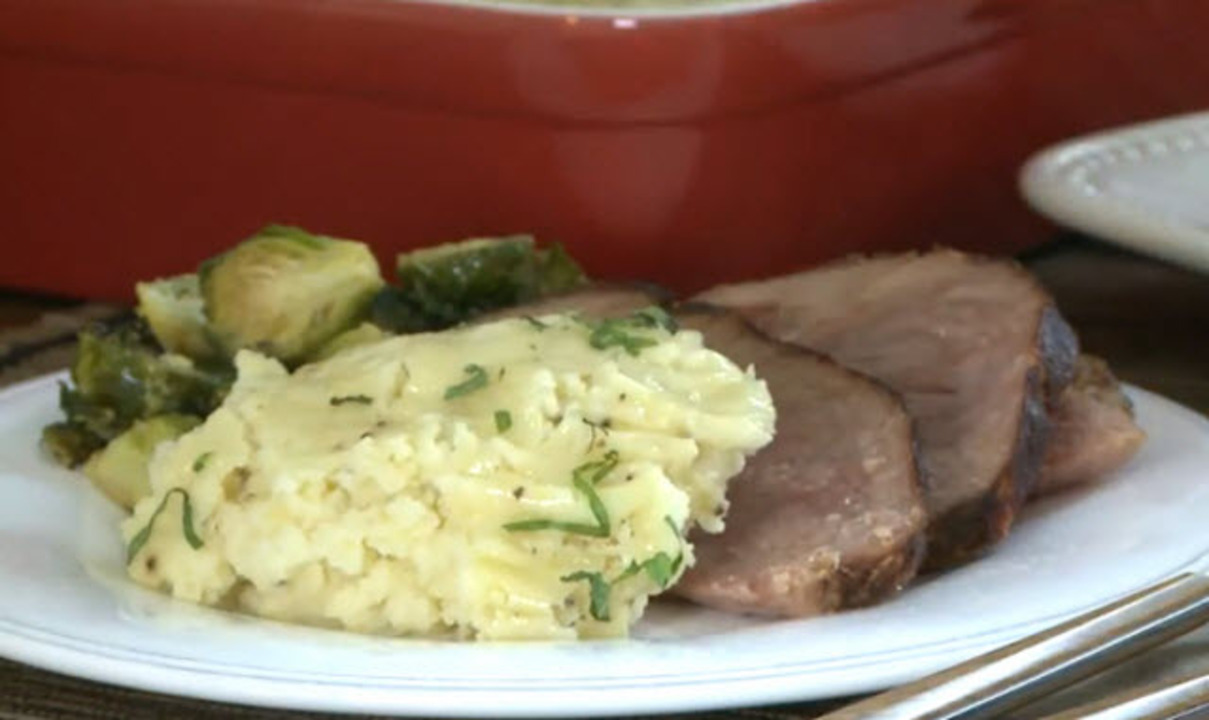 make ahead mashed potatoes video