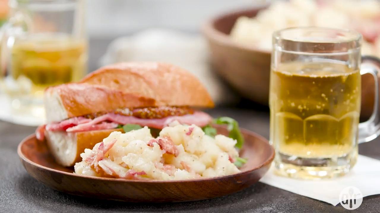 hot german potato salad iii video