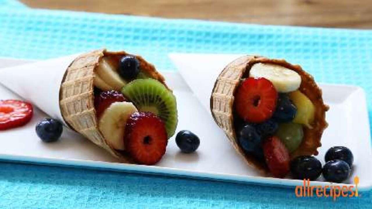 Perfect Summer Fruit Salad Video Allrecipes Com