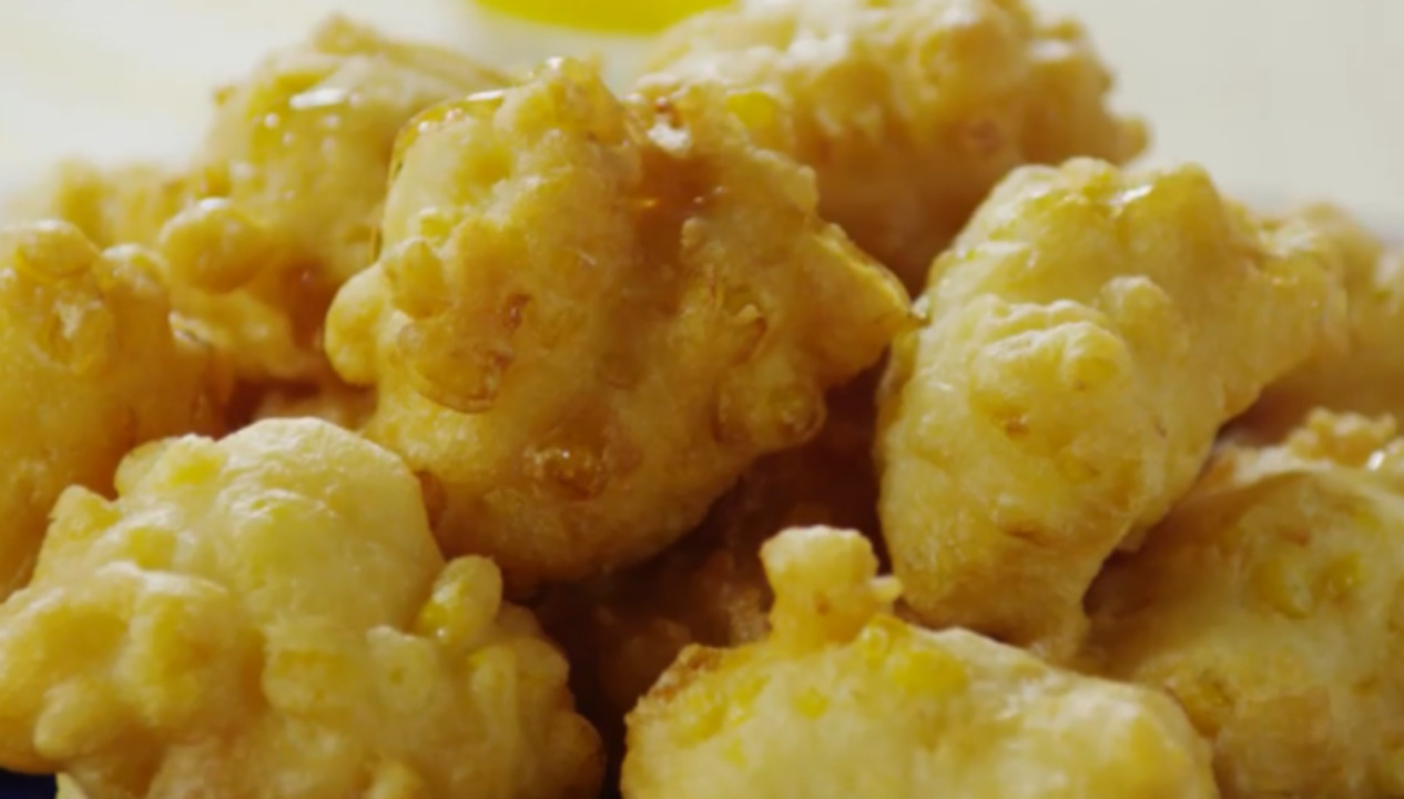 corn fritters video