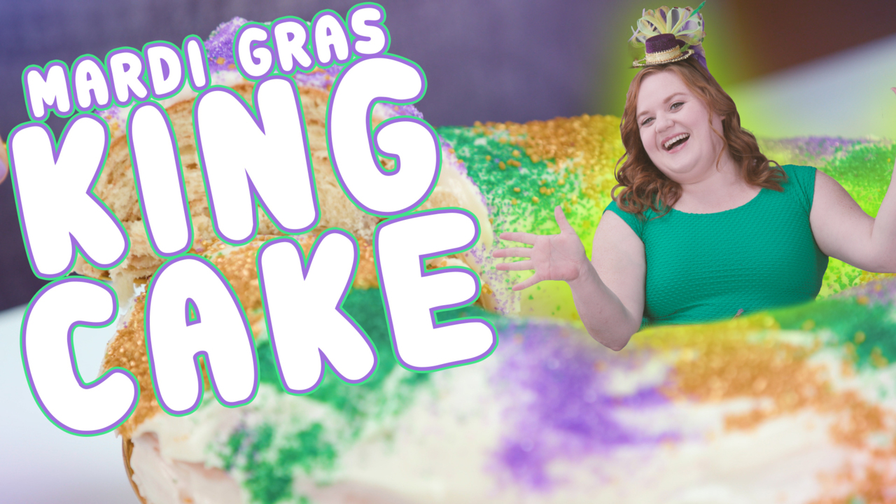 how to make the best cream cheese king cake video