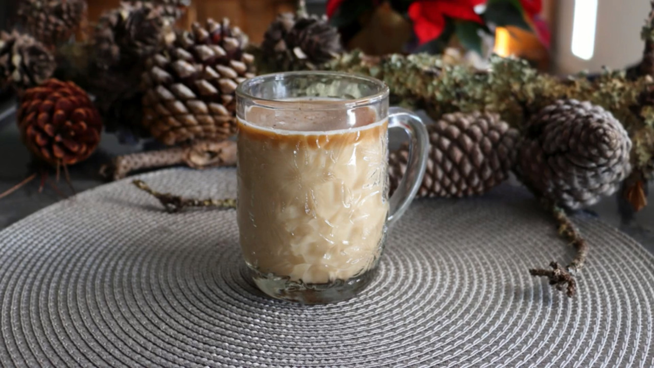 chef johns hot buttered rum video