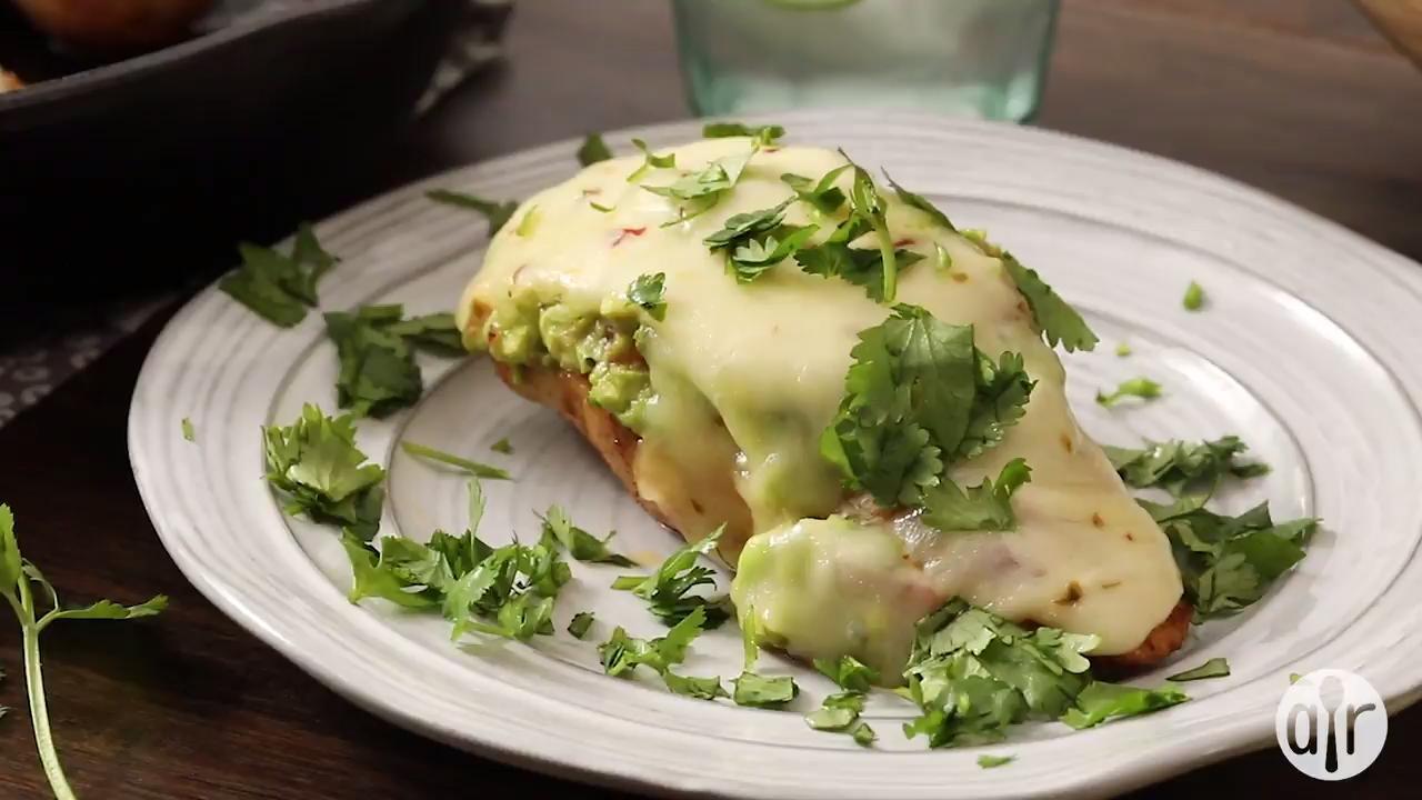 guacamole chicken melt video