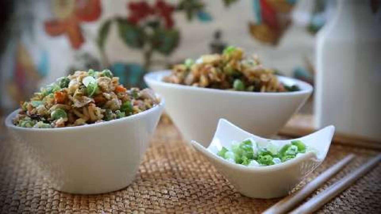 pork fried rice video