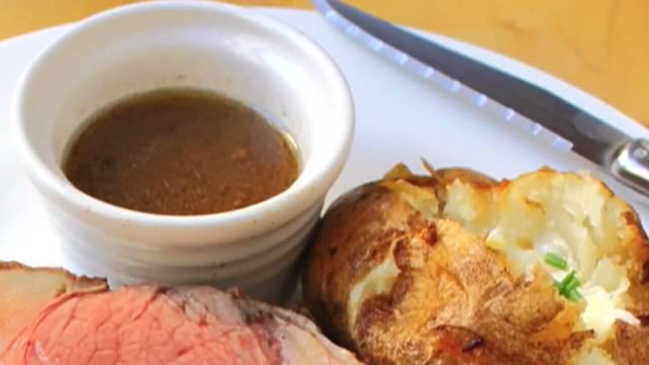 How To Make Beef Au Jus Video Allrecipes Com